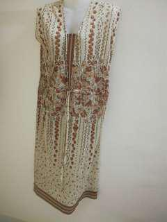 Retro Vintage English Dress