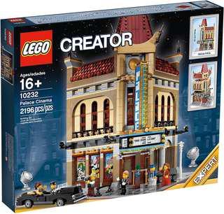 Lego 10255, 10251, 10246, 10232, 10218