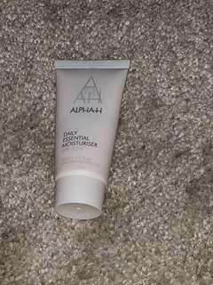 Alpah daily moisturiser