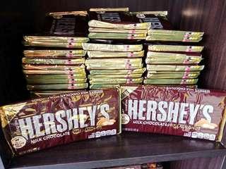 Hereshey's Milk chocolate with Almond