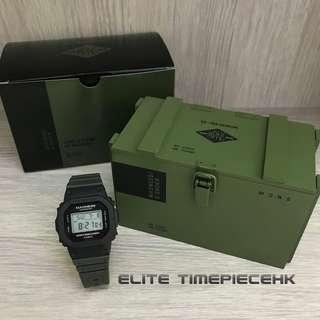 全新現貨 Casio G SHOCK 35th Anniversary x MADNESS DW-5000MD 官方網站木盒限量版 余文樂品牌 三十五週年聯乘限量紀念