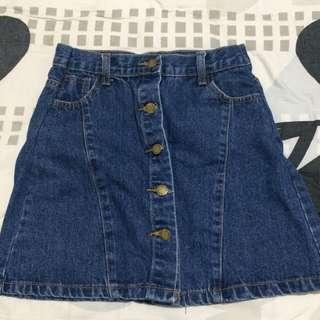 Denim Skirt (H&M inspired)