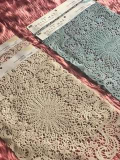 Doily Placemat 💯 % fresh from Japan