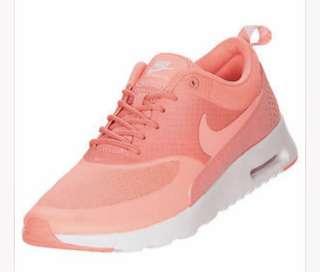 Nike Air Max Thea Salmon Size 8