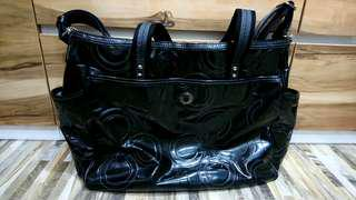 COACH Diaper Bag (Black)