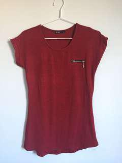 Soft Red T-Shirt