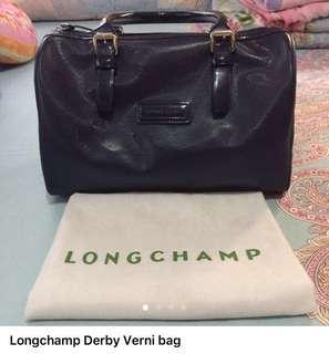 Longchamp derby verni