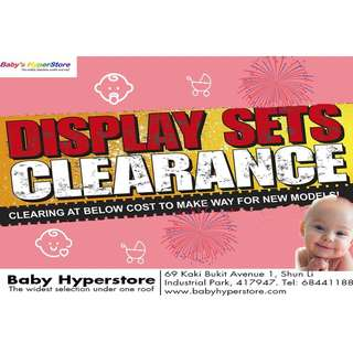 DISPLAY SETS CLEARANCE - The deals ARE TOO GOOD TO BE MISSED!!!😳😱