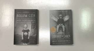 Miss Peregrine's Home for Peculiar Children - HOLLOW CITY AND LIBRARY OF SOULS
