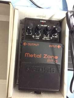 Boss Metal Zone Distortion MT2