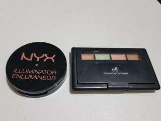 Buy 1 Get 1: Nyx Illuminator + Elf Corrective Concealer