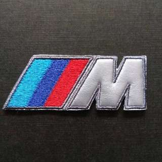 BMW M3 Motorsport Logo Sew On / Glue On Patch