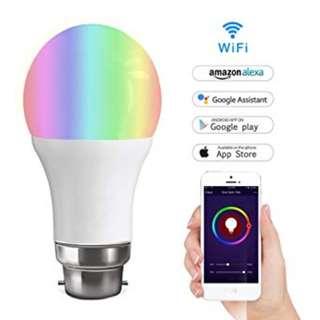 531 WIFI SMART BULB Multicolored LED Dimmable 7W RGB Light Bulb