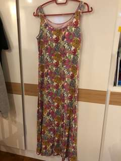 Floral Dress from Uniqlo M