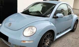 Volkswagen New Beetle 1.6A (COE till 10/2022)