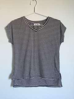 Striped Step T-Shirt