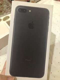 iphone 7 plus 32 gb black matte