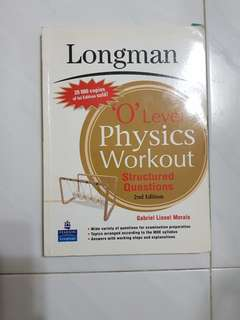 Longman O level Physics workout structured questions