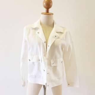 🆕BRAND NEW White Outer Jacket