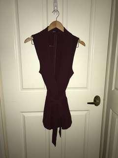 TOKITO sleeveless cardigan vest
