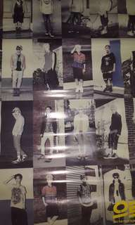 OFFICIAL POSTER EXO GROWL THE FIRST ALBUM