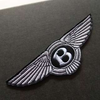 Bentley Logo Sew On / Glue On Patch