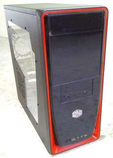 Used CoolerMaster ATX computer case.