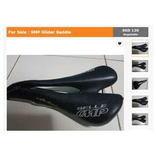 SMP Glider Saddle