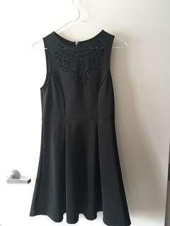 Black dotti dress size 10
