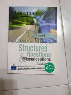 Longman O level Science Physics structured questions and misconceptions