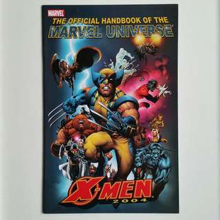 The Official Handbook of the Marvel Universe- X-Men 2004