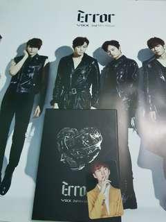 Vixx 2nd mini album Error