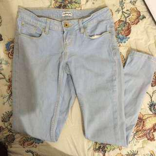 Colorbox lightblue skinny jeans