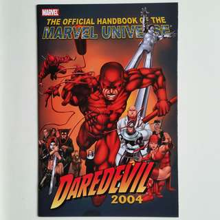 The Official Handbook of the Marvel Universe- Daredevil 2004