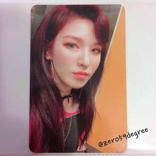 Red Velvet TPRV Wendy Photocard
