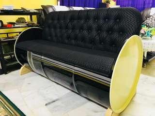 Tong drum sofa