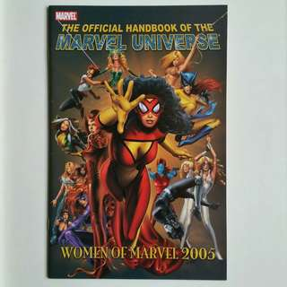 The Official Handbook of the Marvel Universe- Women of Marvel 2005
