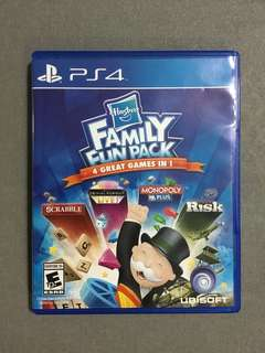 PS4 Hasbro family fun pack 4 in 1