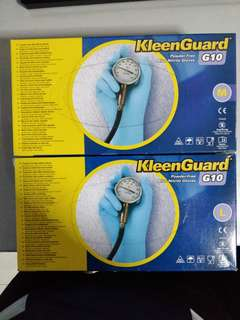 (BNIB) KleenGuard G10 Powder-Free Nitrile Gloves (M/L)