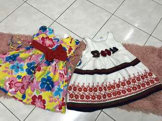 Dress 2yrs RM5 each