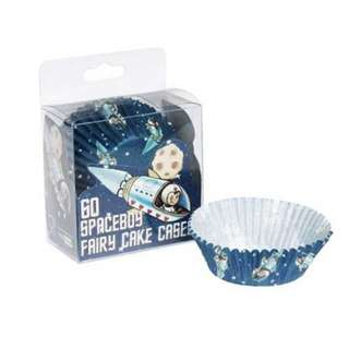 UK Spaceboy Fairy Cupcake Cases (Astronaut/Rocket/Space Odyssey Party) 小蛋糕蛋撻包裝