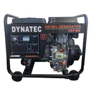 DYNATEC Diesel Generator Set ( 3000W ) ( 100% Copper Wire ) ( Electrical Start )