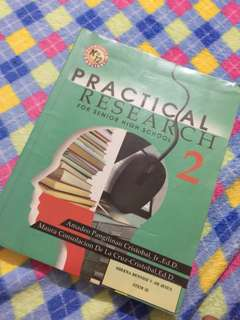 Practical reaearch for senior high by amadeo cristobal and maura cristoba