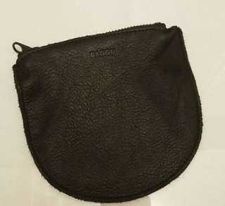 BAGGU - 真皮零錢包/收納袋 Real Leather Coin Purse / Pouch