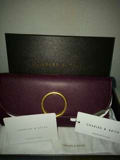 Charles and Keith Wallet Original New 100%