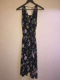Orig warehouse maxi dress