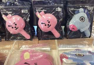 <PO> BT21 Plush Hand Mirror BT21 X BTS