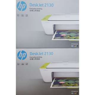 BUNDLE DEAL - Brand New HP Deskjet 2130 3 in 1 Printer