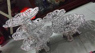 Silver engagement wedding dulang tray for sale