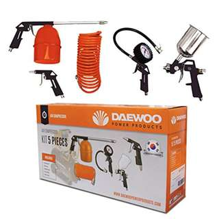 KOREA Daewoo 5pcsKIT 5pcs Pneumatic Air Tool Kit Set